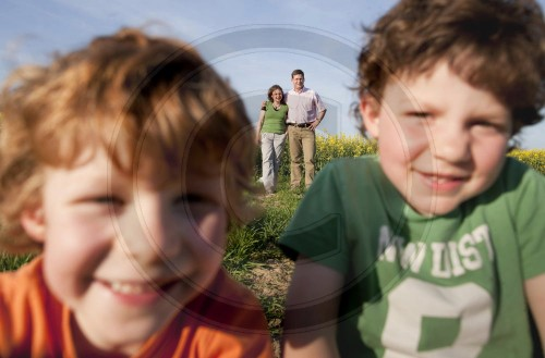 Eltern mit Kindern | Parents with children