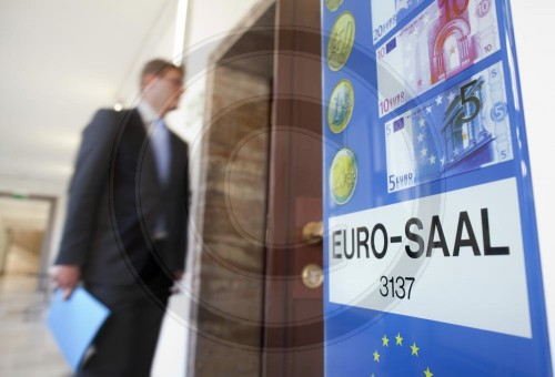 EURO Saal im Bundesfinanzministerium | EURO hall in the Federal Ministry of Finance