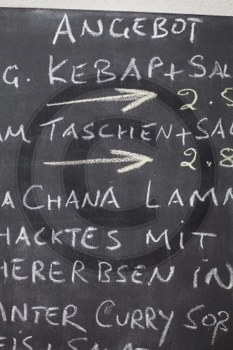 Angebotstafel | Blackboard