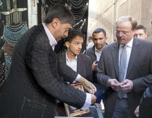 Niebel besucht Mikrokreditnehmer in Sanaa | Niebel visiting micro-borrowers in Sana'a