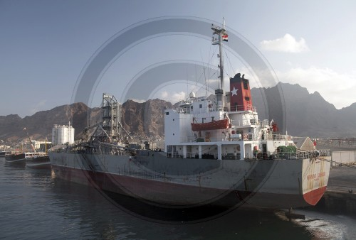 Hafenszene in Aden | Harbor scene in Aden