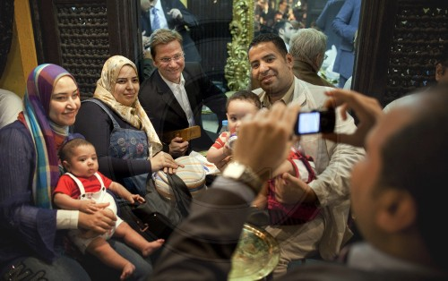 BM Westerwelle in Aegypten|Federal minister Westerwelle in Egypt