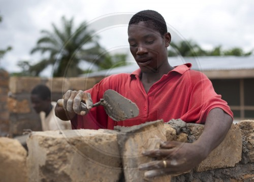 Arbeiter in Liberia | Workers in Liberia