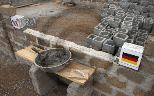 Grundsteinlegung | Laying of the foundation stone