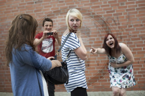 Mobbing an der Schule|Bullying at school