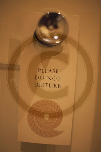 Please do not disturb