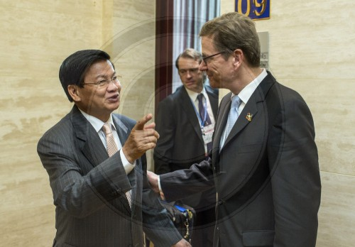 BM Westerwelle in Laos
