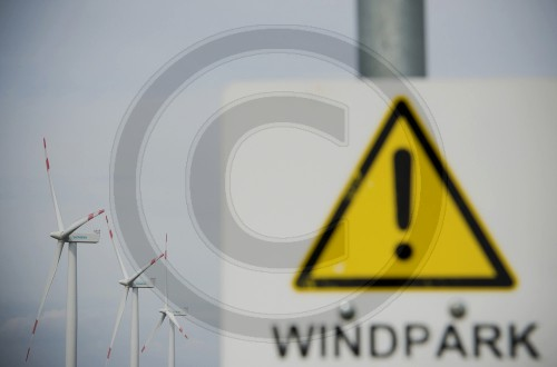 Achtung Windpark