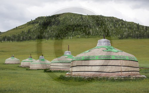Chinggis Khuree Ger Camp