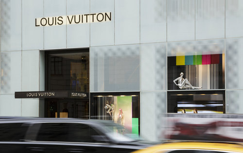 Louis Vuitton Store in New York