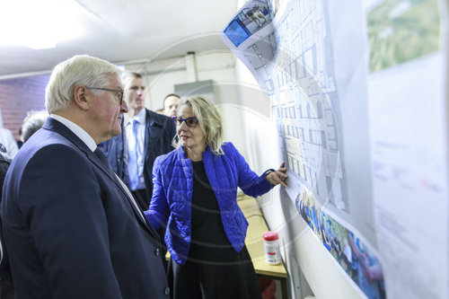 BM Steinmeier in der Berliner Stadtmission