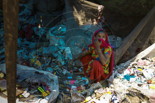 Slum in Indien
