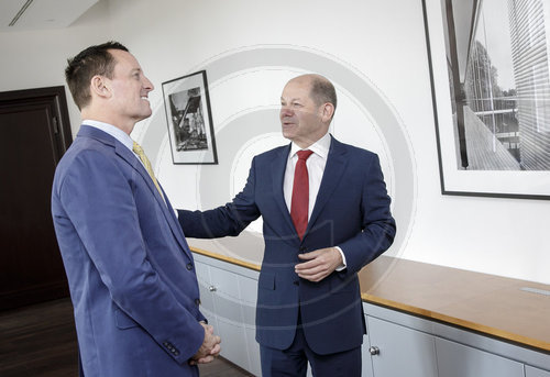 BM Scholz trifft  US-Botschafter Grenell