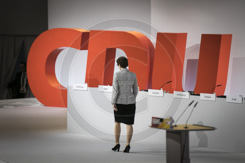31. CDU-Bundesparteitag in Hamburg