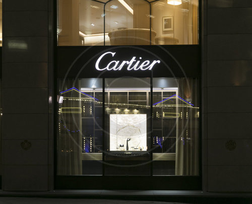 Cartier in der Ulitsa Kuznetskiy Most