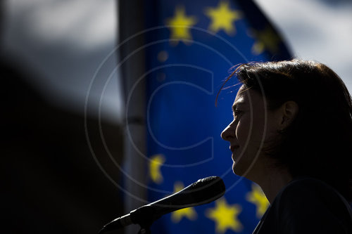 Katarina Barley bei Pulse of Europe