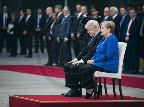 Merkel trifft Boris Johnson
