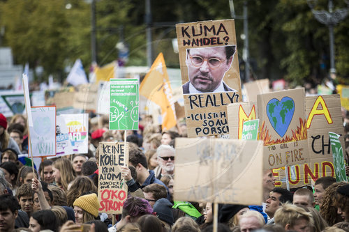 Demonstration 'Alle fuers Klima'