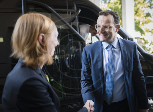 BM Spahn reist nach Washington und New York