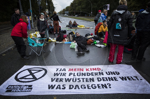 Extinction Rebellion in Berlin