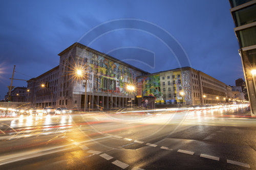 Festival of Lights am Bundesfinanzministerium