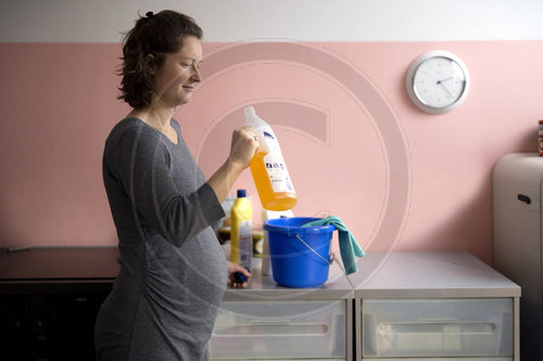 Geruchssinn waehrend der Schwangerschaft. Sense of smell during pregnancy